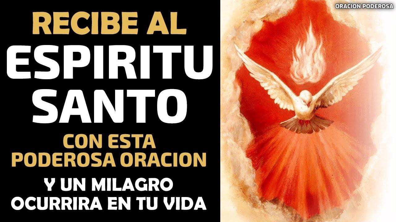 Oraciã³n Al Espãritu Santurrón Pidiendo Sabidurãa   Oraciones de ...